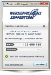 WebService4All QuickSupport